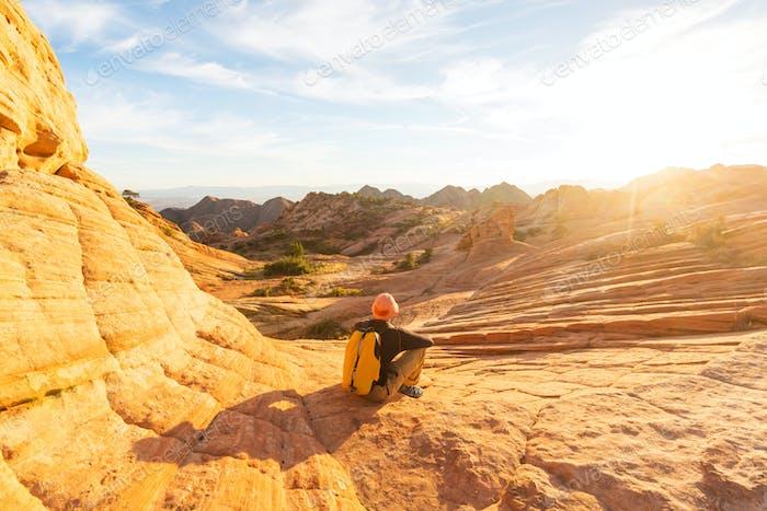 Wanderung in Utah