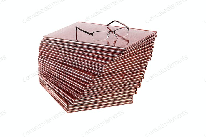 Bücher und Brillen