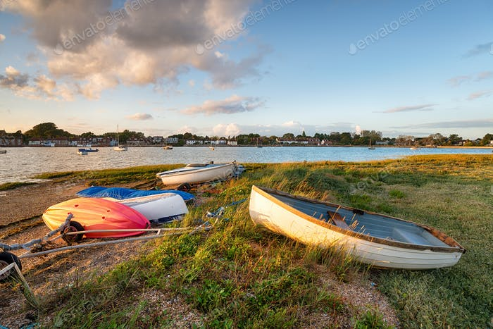 Boats at Bosham