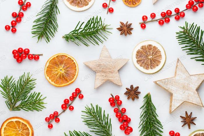 Weihnachten, Winter, Neujahr Konzept.