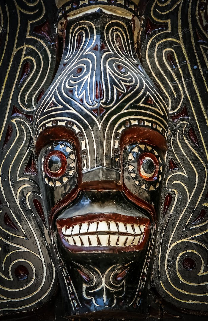 Indonesian art from Lake Toba area
