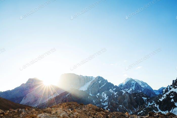 Montañas Fann