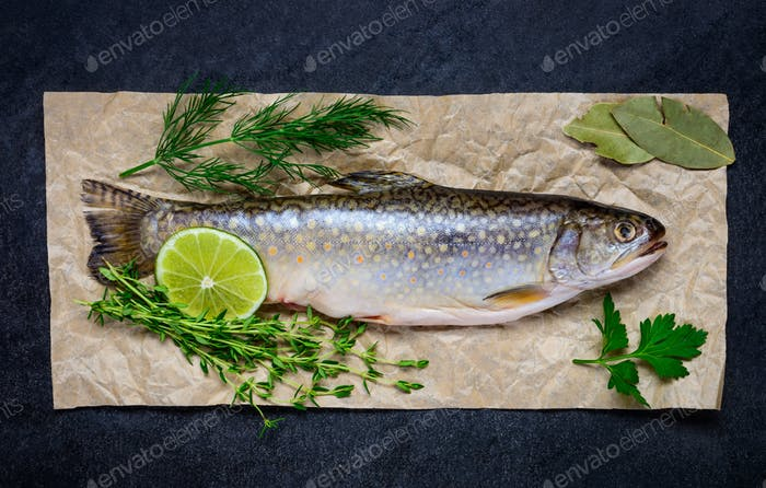 Fish Seasoned with Herbs