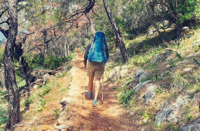 Caminata en Turquía