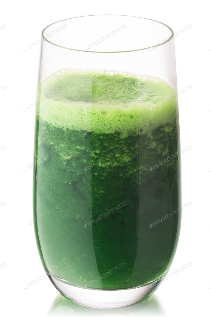 Wheatgrass juice highball, paths