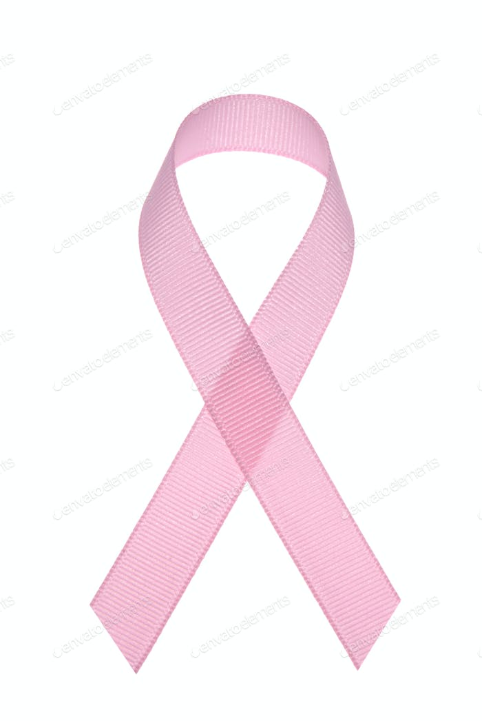 Brustkrebs-Bewusstseinsband