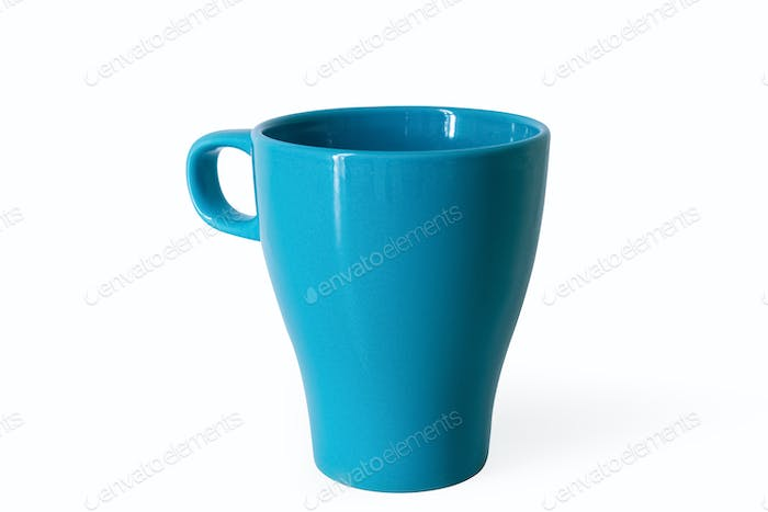 Thumbnail for blue cup isolated