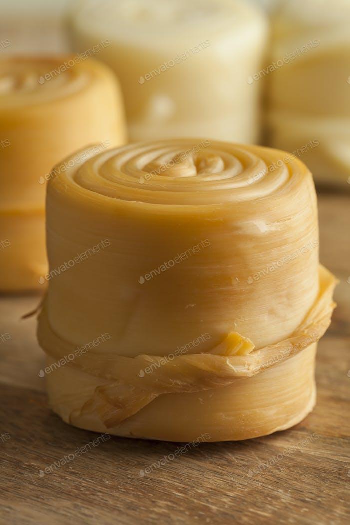 Traditioneller slowakischer Käse, Parenica