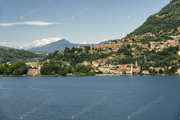Lake of Como at Blevio