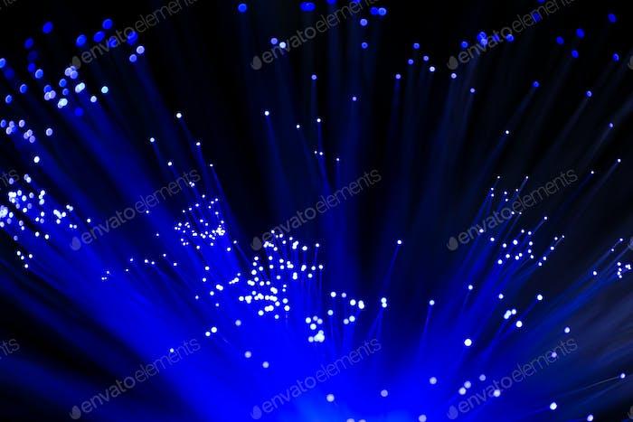 Glühende Lichtwellenleiter