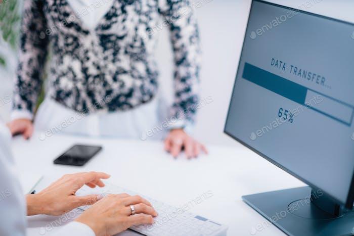 Форма медицинских данных