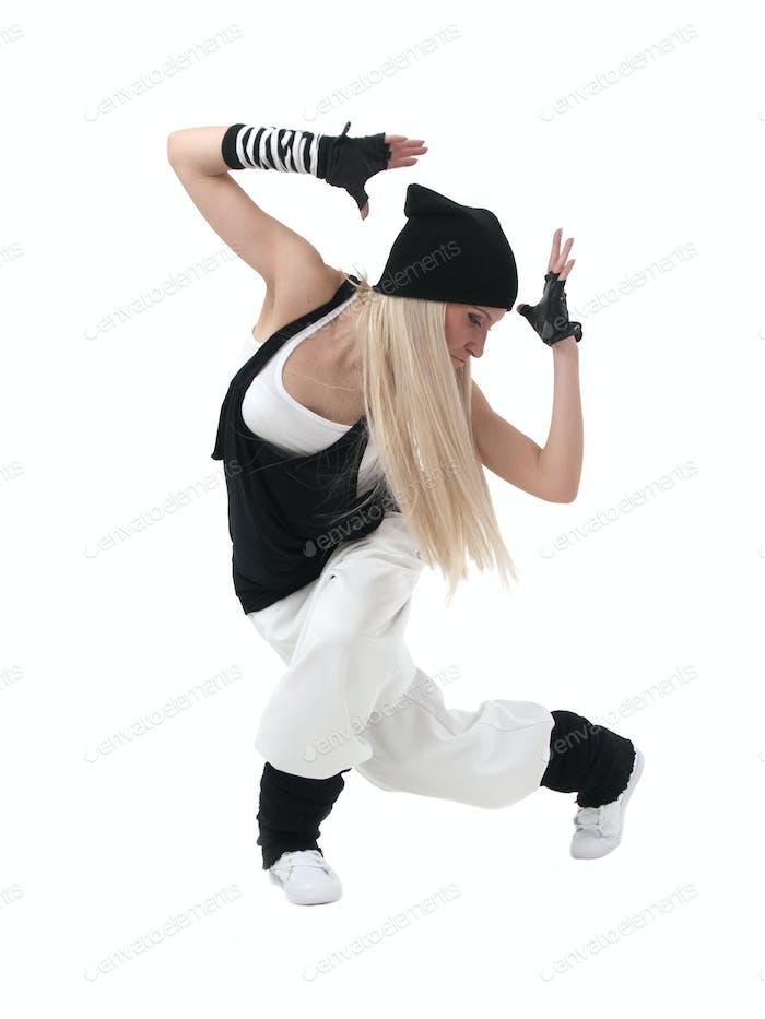 Hip-Hop-Tänzerin