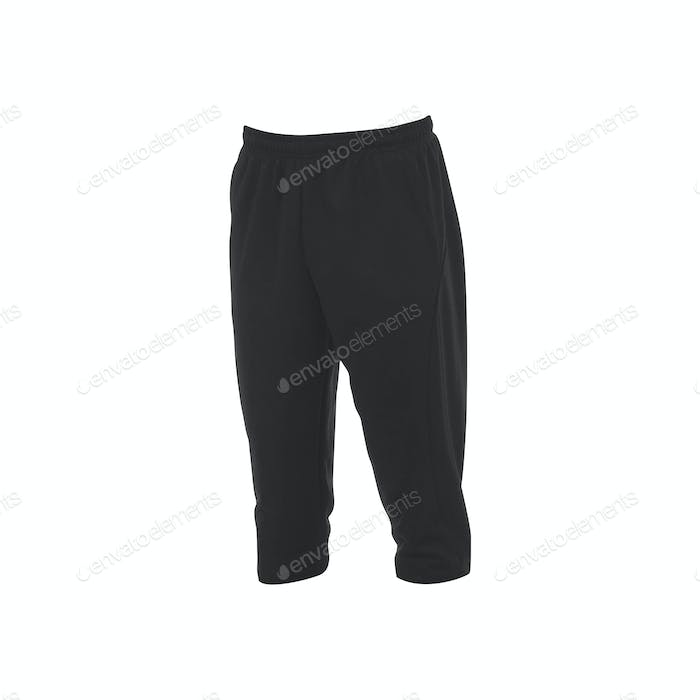 sports trousers on a white background