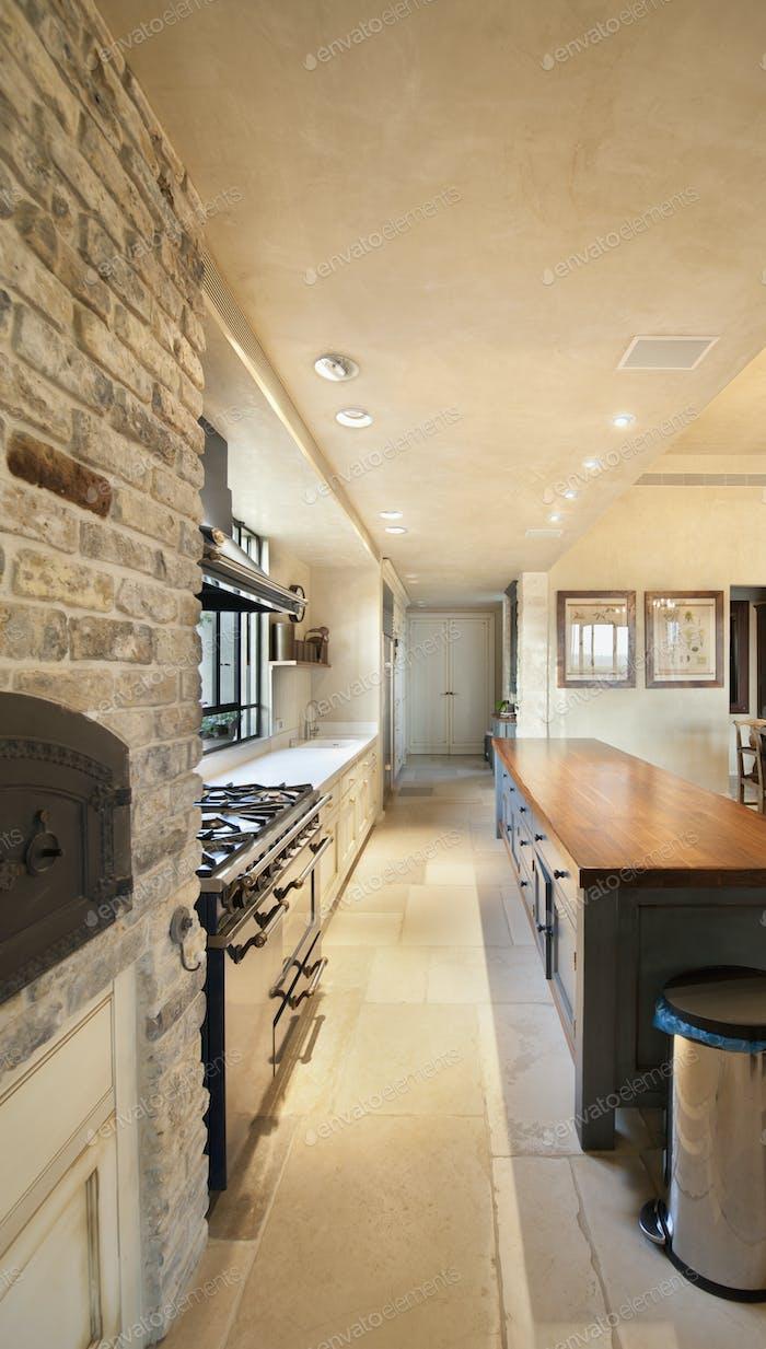 Проход для жилых кухонь