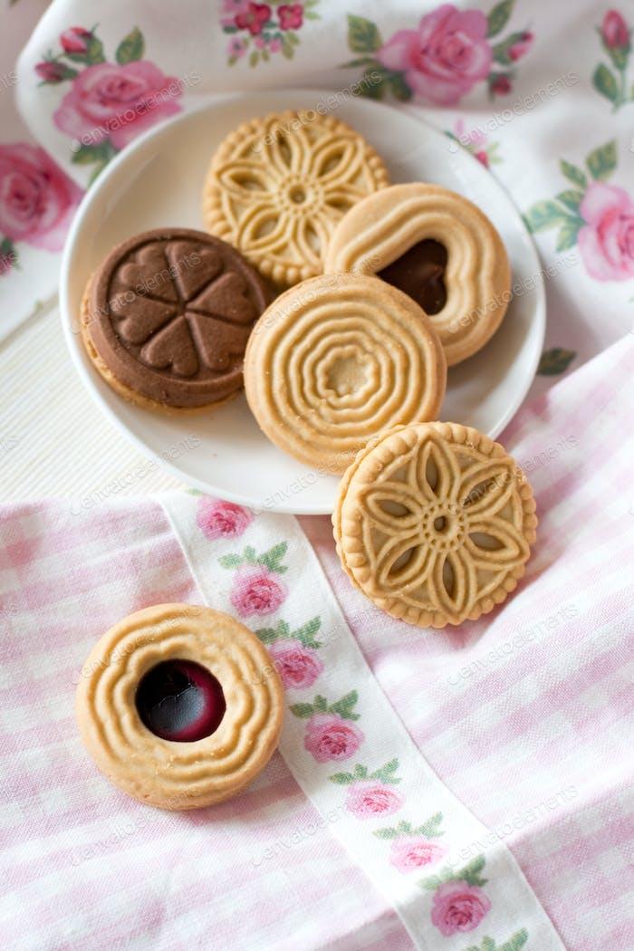 Cookies (selective focus)