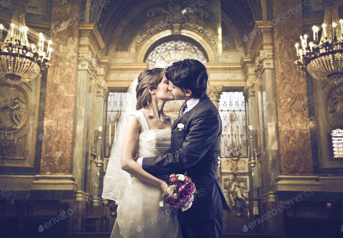 Marriage Kiss