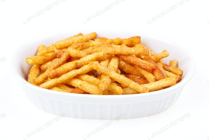 fries in  a bowl