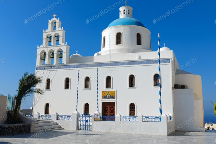 Main church in Oia
