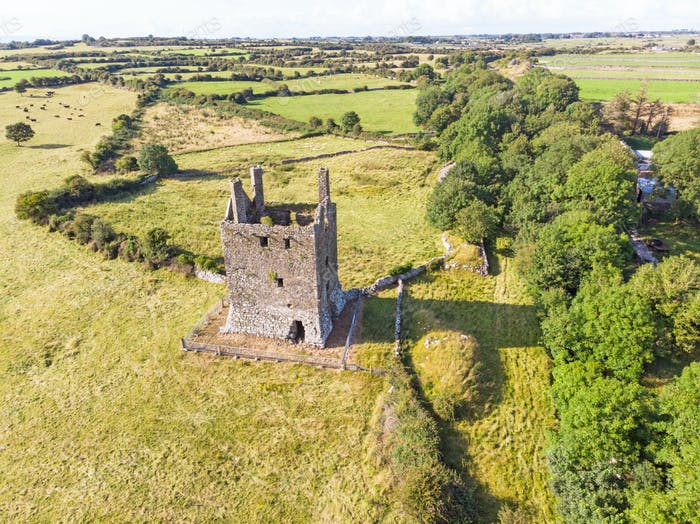 Kinlough Castle in Ireland