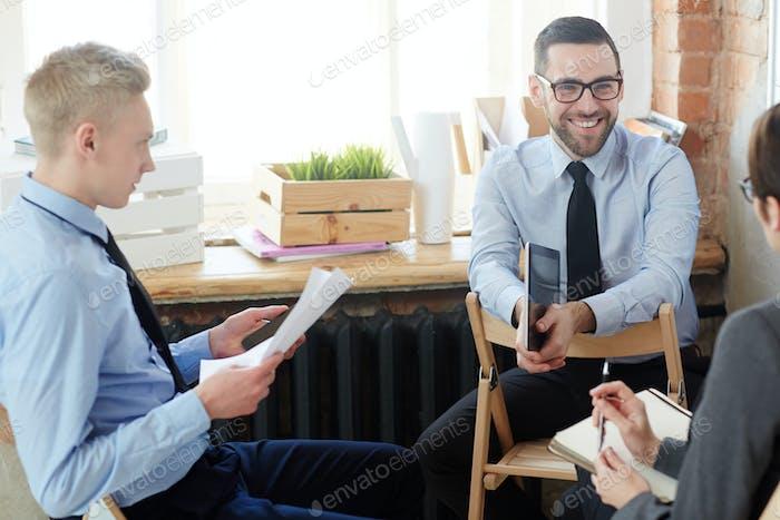 Manager Brainstorming