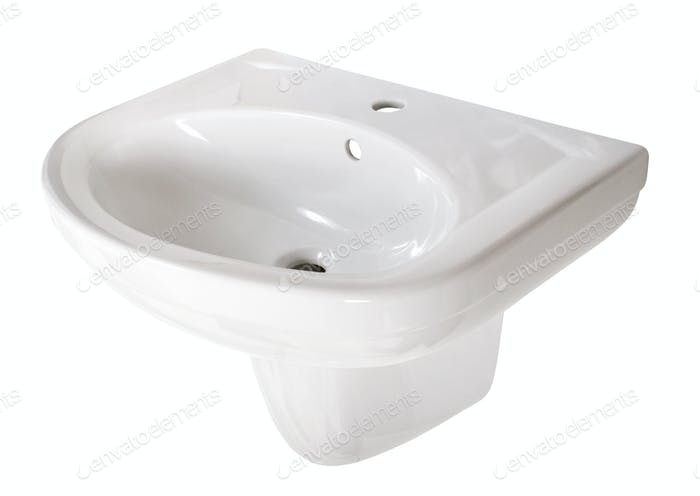 Washbasin. File includes clipping path