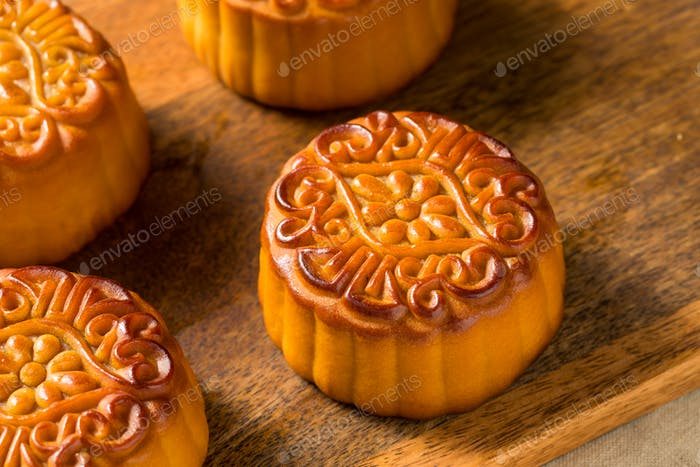 Homemade Chinese Moon Cakes