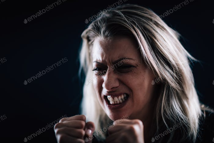 Rage – Portrait of an Angry Woman