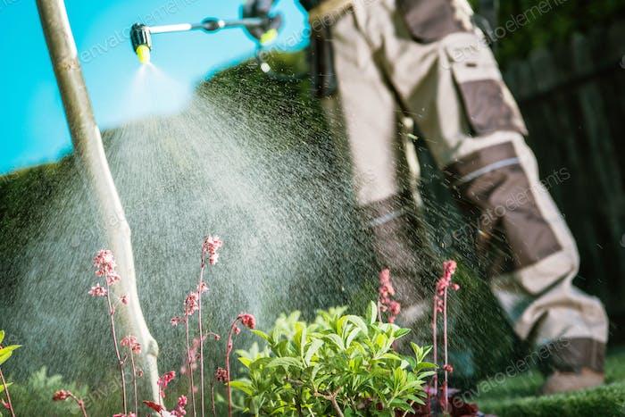 Bekämpfung von Insekten im Garten