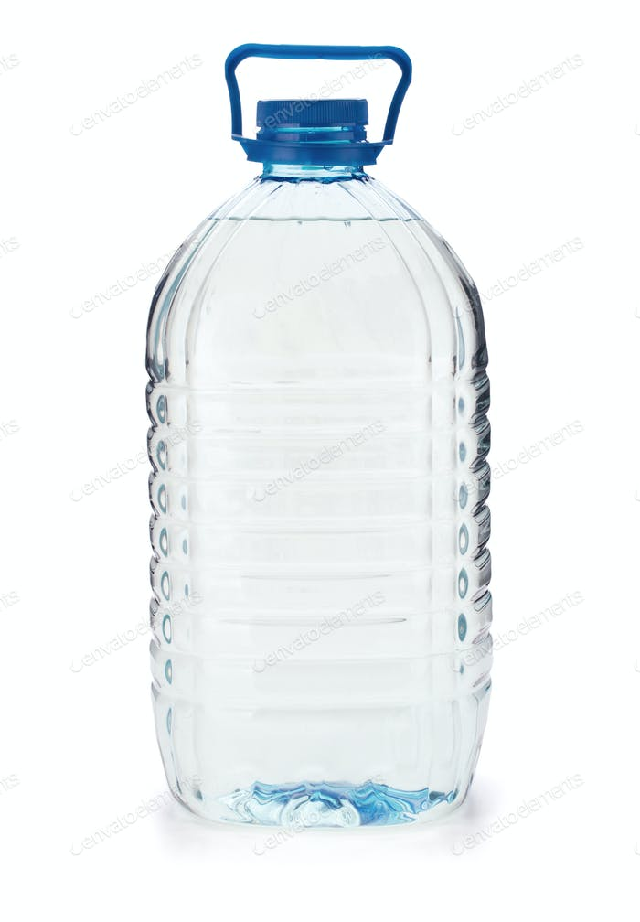 Large bottle of water