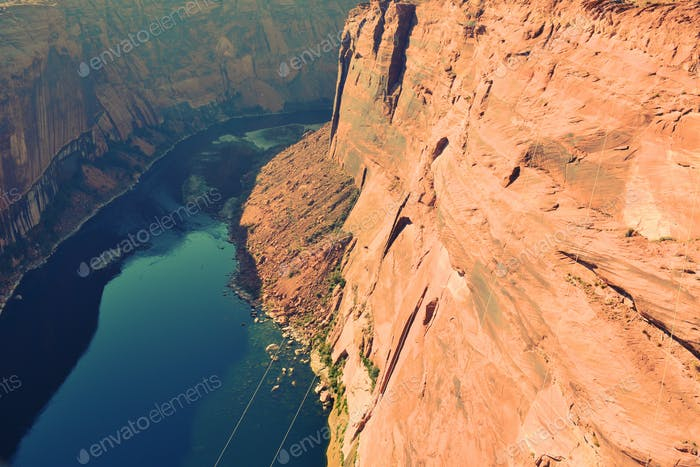 River in Canyon