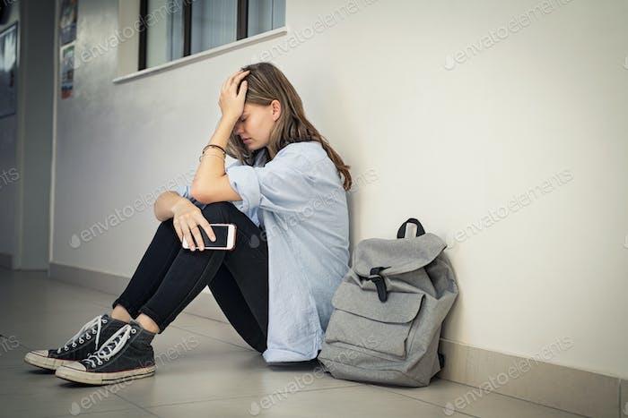 El acoso cibernético en la escuela secundaria