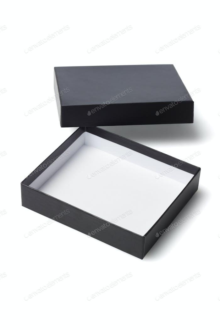 Open Black Gift Box