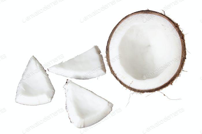 Kokosnussscheiben