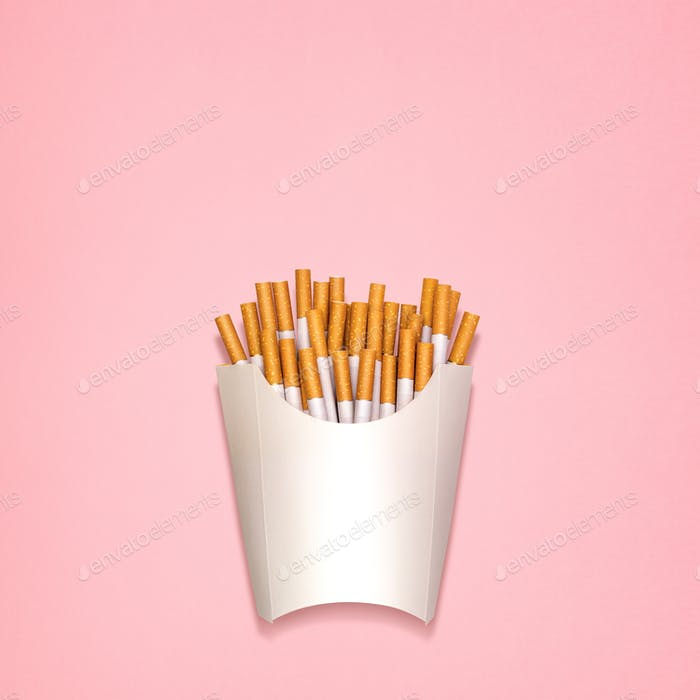 Fried cigarettes.