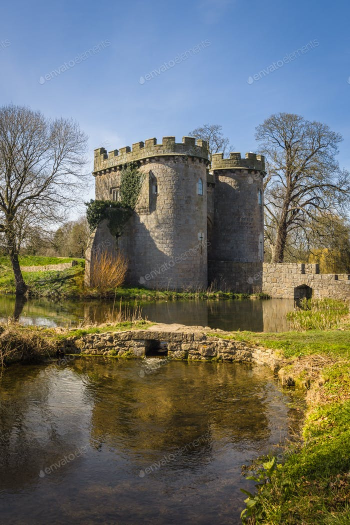 Whittington Castle Shropshire England