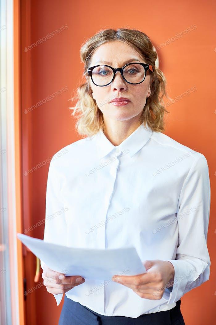 Woman in formalwear