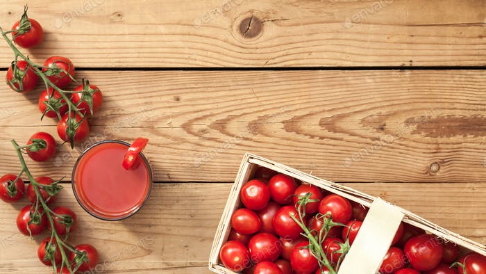 Tomatoes food preparation