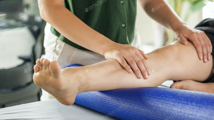 Health and wellness massage for sports and fitness