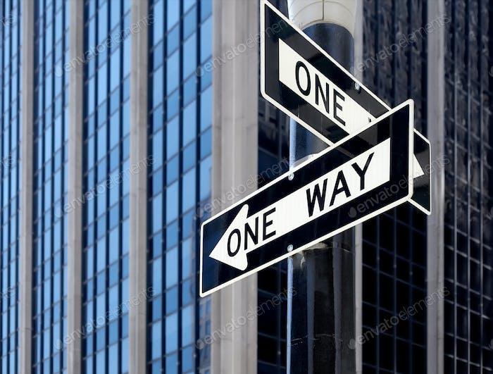 Una vía