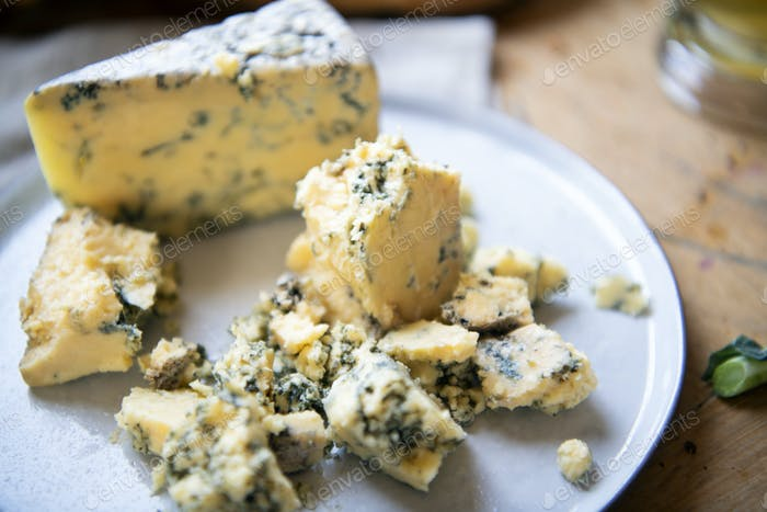 Blue cheese food photography recipe idea