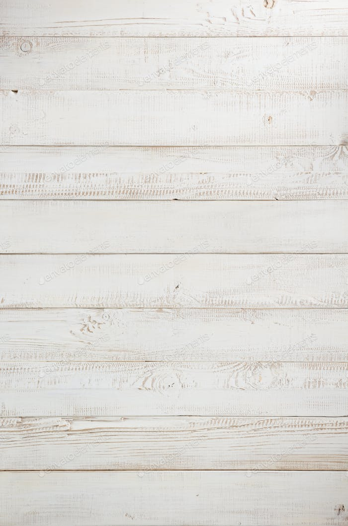 white aged wooden background texture