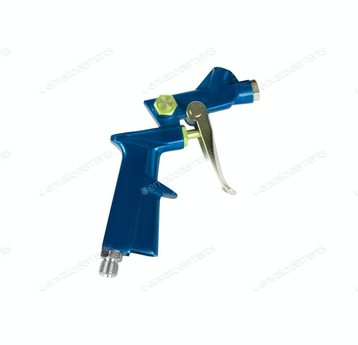 paint gun isolated