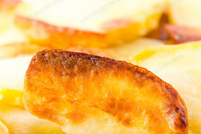 Traditionelle Bratkartoffeln.