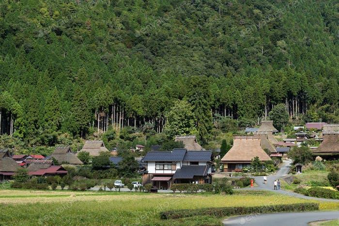 Miyama village in Kyoto