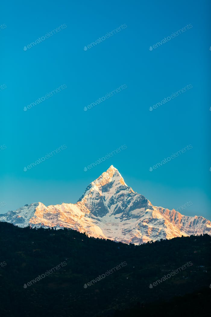Mountains inspirational landscape, Himalayas