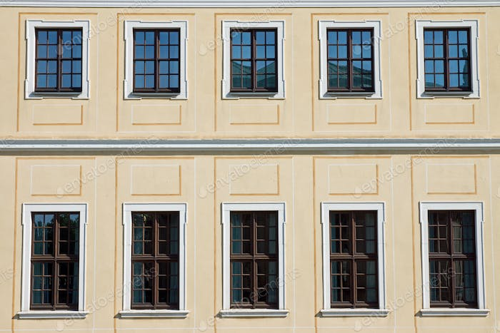 Historic facade in Dresden