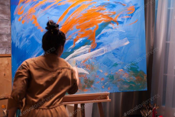 Junge Menschen Malerei