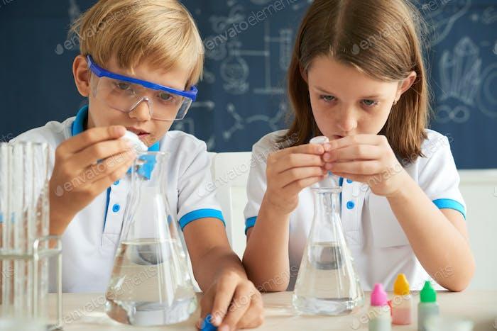 Маленькие ученые