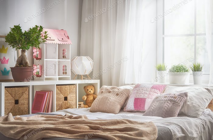 light kids bedroom