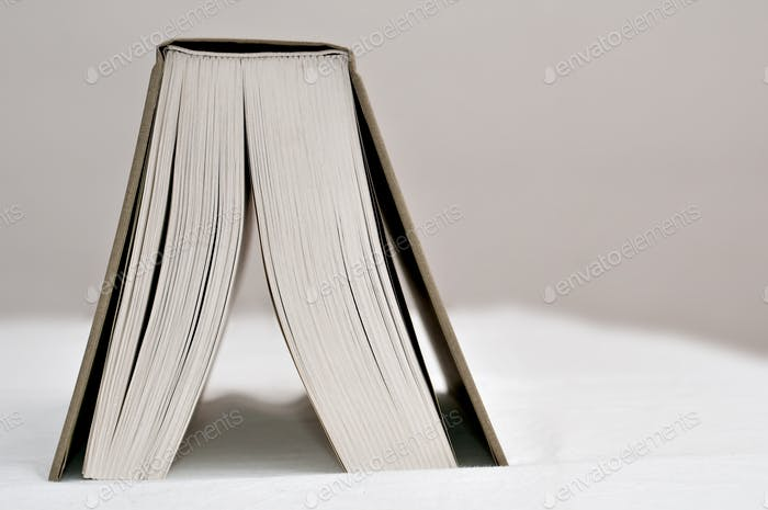 Open Book on Table